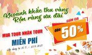 Du Lịch Việt đang giảm giá đến 50% chùm tour du lịch mùa thu