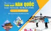 Du lịch mùa đông Hàn Quốc – Khám phá thiên đường trượt tuyết ấn tượng
