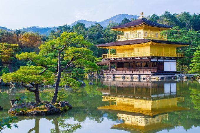 Khung cảnh chùaKinkaku-ji