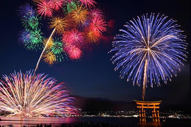 Lễ hội bắn pháo hoa Nhật Bản