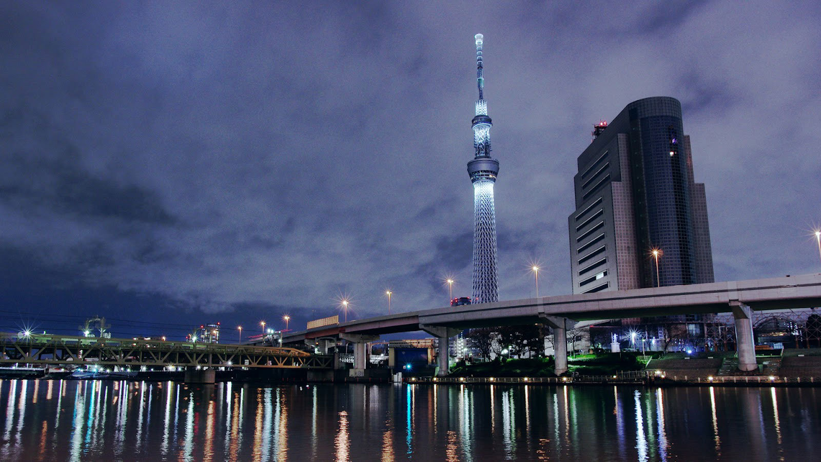 tòa tháp Tokyo Skytree Nhật Bản