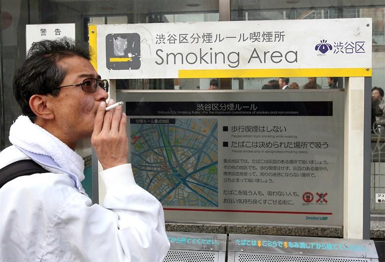 tour du lịch nhật bản nơi dành riêng cho người hút thuốc lá